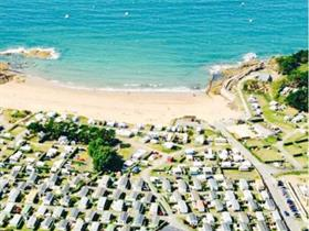 Camping municipal le port blanc in dinard ille et vilaine camping - Camping le port blanc dinard ...