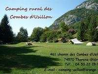Camping Rural Les Combes d'Usillon in 74570 Thorens Glieres