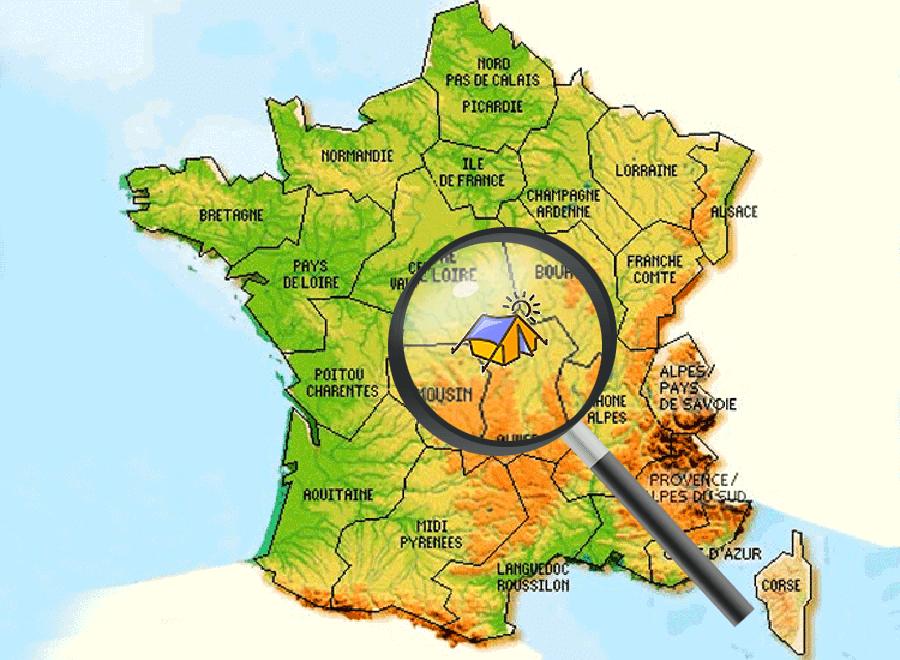 Campings in Frankrijk   Camping Frankrijk nl   kamperen