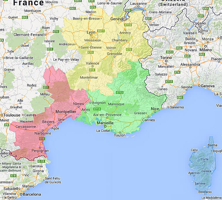 Campings In Zuidoost Frankrijk Camping Frankrijk Nl